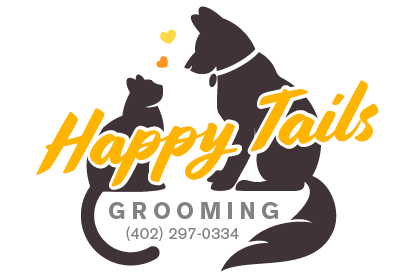 Happy tails grooming logo
